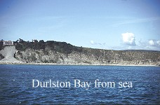 Durlston Bay from the sea