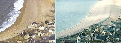 End of Chesil - comparison photos