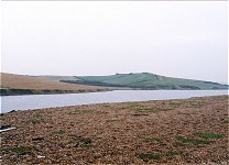 Chesil Beach and Fleet, 1.2km SE of Abbotsbury, 18.10.00