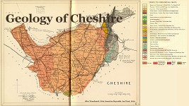 Cheshire Geological Map