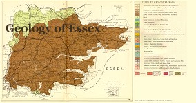 Geological map of Essex