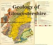 Gloucestershire Geology Map