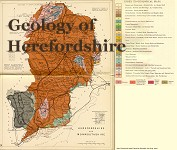 Herefordshire Geology Map