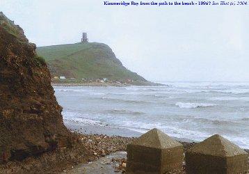 Path into Kimmeridge Bay