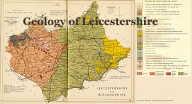 Leicester Geology Map
