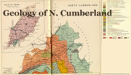 North Cumberland Geology Map