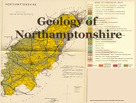 Geological map of Northampton
