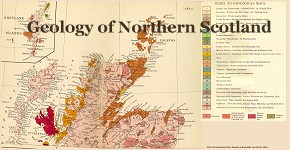 Geological Map of Northern Scotland