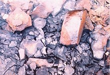 Burnt shale