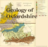 Geological map of Oxfordshire