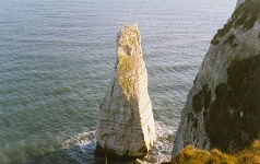 The Pinnacle, chalk stack