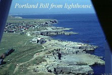 Portland Bill, view from lighthouse