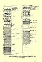 Successions of Upper Jurassic, Portland strata