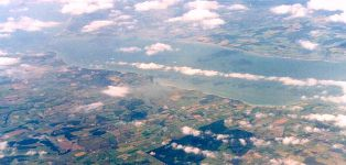 Western Solent  from the air