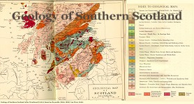 Geological Map of southern Scotland
