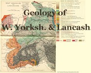 Geological maps of West Yorkshire & Lancashire