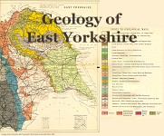 Geological map of the Yorkshire Coast
